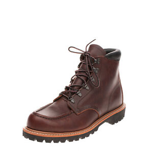RRP €300 RED WING SHOES Leather Ankle Boots EU 42 UK 8 US 9 Treated Vibram Sole