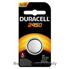 1 x 2450 Duracell Lithium 3V Coin Cell Battery (CR2450, DL2450, ECR2450)