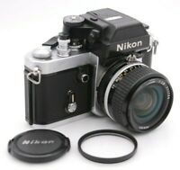 [Excellent+5] NIKON F2 Photomic AS DP-12 + AI-S NIKKOR 24mm F/2.8 From Japan