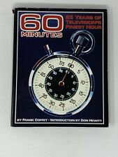 """""""60 Minutes:25 Years of Television's Finest Hour"""" by Frank Coffey 1st Ed-Signed"""