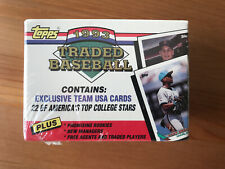 1993 Topps Traded complete set factory sealed 1T-132T MINT Todd Helton RC