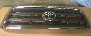 2008-2017 Toyota Sequoia OEM Front Upper Radiator Grill Grille 53100-0C200