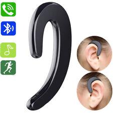 Ear Hook Bluetooth Headset Earphone Handsfree for Samsung Galaxy S9 S8 S7 S6 S5