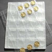 20/30/42 Classeur Album Pièce de monnaie housse étui stockage Franc Collection