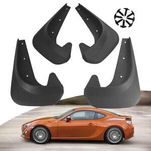 4PCS Universal Car Mud Flaps Splash Guards Front Rear Auto Fender Accessories