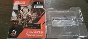 Seagate FireCuda 530 2TB PCIe Gen 4x4 NVME M.2 SSD ZP2000GM3A013