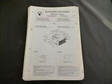 Original Service Manual  Blaupunkt Autoradio Bremen