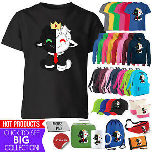 Ranboo Crown Kids T Shirt Hoodie Set Moriah Elizabeth Youtuber Gift Lot