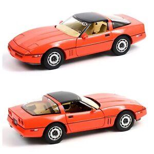 1/18 Greenlight Chevrolet Corvette C4 1984 Jim Gilmore & AJ Foyt Liv Domicile