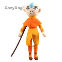 The Last Airbender Aang Plush Toy Soft Stuffed Figures Doll Children Gift 13''