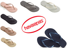 Original Havaianas Slim Women Flip Flops RRP24.99 Brazilian Flip Flops * BNWT*
