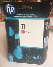 HP 11 Magenta  Ink Cartridge C4837A Brand New Sealed Box Authentic