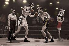 Poster CHRIS CONSANI - The 13th Round (Bogart, Elvis, Monroe, Dean) NEU 58064