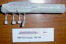 1960 FORD STARLINER GAUGE FACES!! -1/25 scale- for AMT KITS