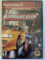 Midnight Club: Street Racing BRAND NEW FACTORY SEALED (Sony PlayStation 2, 2000)