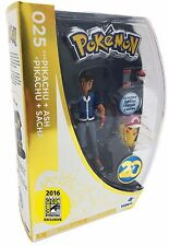 SDCC 2016 Pokemon EXCLUSIVE Ash & Pikachu 20th Anniversary Figure NEW Limited Ed
