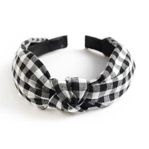 Women's Soft Headband Alice Band Top Knot Fashion Headbands Twist Hairband New