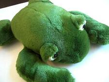 "Ty Classic 1991 Stuffed Plush Freddie the Frog Croaking Sound 14"" Vintage"