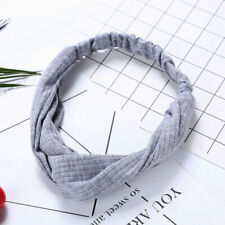 1Pcs Women's Headband Korean Style Hairband Bowknot Elegant Hair Band Grey Color