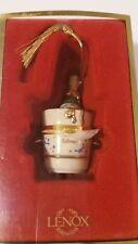 Lenox Celebrate 2000 Commemoraive Champagne Box Ornament New