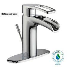 Glacier Bay Kiso 4 in. Centerset Single-Handle Low-Arc Bathroom Faucet in Chrome