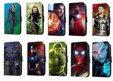 Avengers Inspired leather phone case infinity war marvel flip wallet case