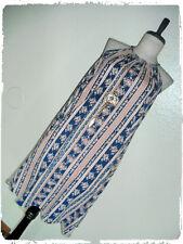 First Love Vertical Striped Floral Trapeze Mini Dress & Dreamcatcher Necklace 2X