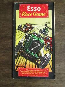 Brooklands Race game board.Esso board game of Brooklands.
