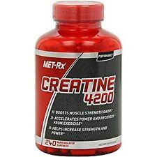 Creatine Monohydrate Powder Capsules Caps Pills Optimum Benefits Nutrition 240Pc