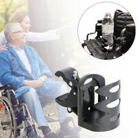 Drink Cup Holder Mount Cradle For Wheelchair Walker Rollator Bike Stroller US
