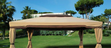 Canvas Coverage Top Replacement For Gazebo Cyprus 3,6 x 4,8 MT Ecru
