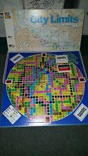 City Limits Board Game Map Skills for 2 to 6 Players 1985