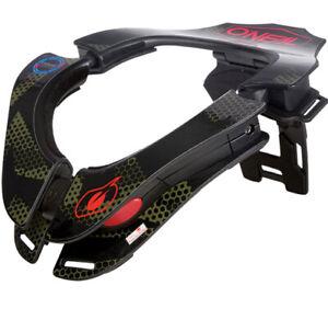 O'NEAL Tron Covert Neck Brace adj Small, Medium, Large, XL Motocross MX MTB Kart