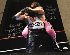 Bret Hart and Kevin Nash Diesel JSA Authenticated Signed WWF WWE 16x20 Photo