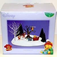 "RARE Department 56 Disney ""Explore a New World"" Winnie the Pooh Christmas NIB"