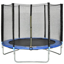 8 FT Trampoline Combo Bounce Jump Safety Enclosure Net W/Spring Safety Pad