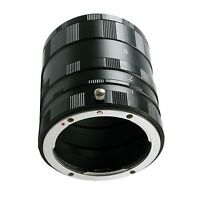 NEW Macro Close Up Extension Tube Set for Nikon AI
