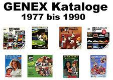 GENEX Katalog CD Geschenke DDR 1977 1978 1980 1986 1988 1990 Jauerfood Mark