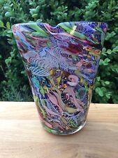 Große Avem Murano Vase Original 60 Er Jahre Dino Martens