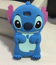 3D Blue Stitch Soft Silicone Back Case For LG Optimus L90 D410 D405 D415