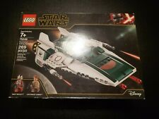 Authentic New LEGO Star Wars Resistance A-Wing Starfighter 75248