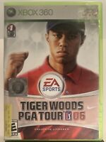 Tiger Woods PGA Tour 06 (Microsoft Xbox 360, 2005) Complete FREE FAST SHIPPING