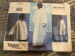 Vintage ISSEY MIYAKE Vogue Sewing Pattern 1544 Dress Blouse Tunic Size 10