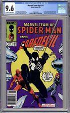 Marvel Team-Up #141 CGC 9.6 (1984, Marvel) 1st Black Suit Spider-Man. Newsstand