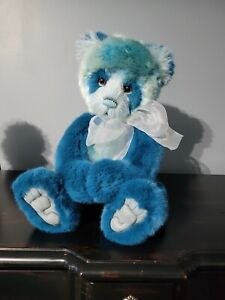"""Charlie Bears """"Ollibobs"""" Isabelle Lee Plumo bear with tags limited edition"""