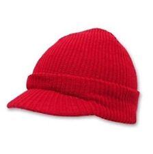 JEEP CAP Beanie Jacquard Knit Visor Winter Hat Ski GI USMC Navy Army Snowboard