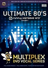 ULTIMATE 80'S VOL 2 - SUNFLY MULTIPLEX KARAOKE DVD - 13 HIT SONGS