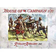 KIT DA MONTARE ARTIGLIERIA REALE 32pz HOUSE OF CAMPAIGN ROYALIST ARTILLERY 1:72