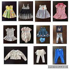Lot of 12 Baby Girl Designer Clothes 18-24m JoJo Maman Jane & Jack Baby Luigi