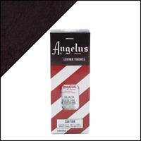 Angelus Black Suede Dye 3 oz. with Applicator for Shoes Boots Bags NEW